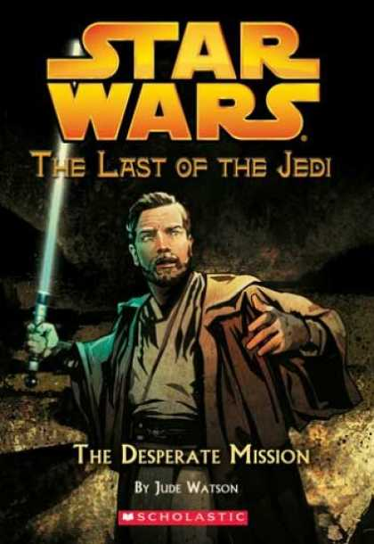 Bestselling Sci-Fi/ Fantasy (2007) - The Desperate Mission (Star Wars: The Last of the Jedi, Book 1) by Jude Watson