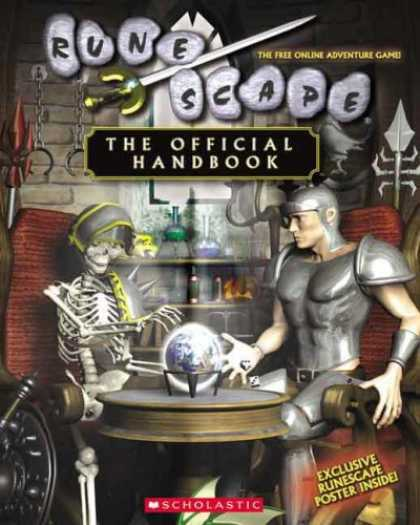 Bestselling Sci-Fi/ Fantasy (2007) - RuneScape: The Official Handbook by Tracey West