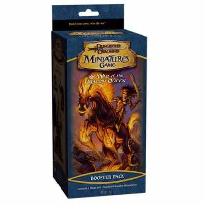 Bestselling Sci-Fi/ Fantasy (2007) - War of the Dragon Queen (Dungeons & Dragons Miniatures Product)