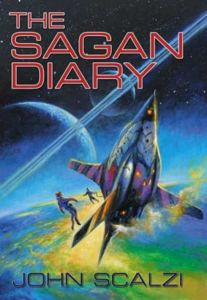 Bestselling Sci-Fi/ Fantasy (2007) - The Sagan Diary by John Scalzi
