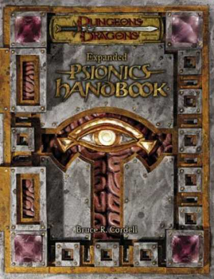 Bestselling Sci-Fi/ Fantasy (2007) - Expanded Psionics Handbook (Dungeons & Dragons d20 3.5 Fantasy Roleplaying Suppl