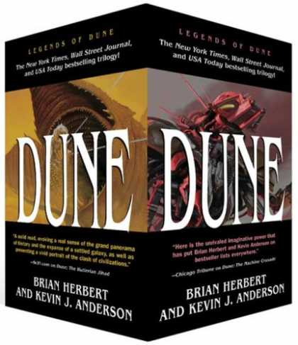 Bestselling Sci-Fi/ Fantasy (2007) - Legends of Dune Trilogy [Box Set] - (The Butlerian Jihad/The Machine Crusade/The