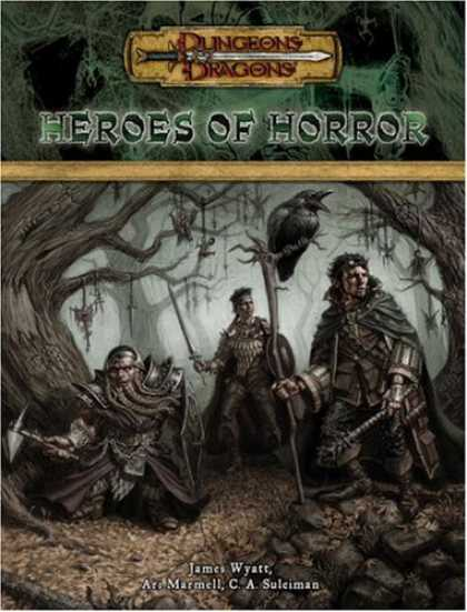 Bestselling Sci-Fi/ Fantasy (2007) - Heroes of Horror (Dungeons & Dragons d20 3.5 Fantasy Roleplaying Supplement) by
