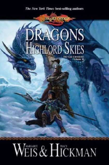 Bestselling Sci-Fi/ Fantasy (2007) - Dragons of the Highlord Skies (Dragon Lance: The Lost Chronicles, Vol. 2) by Mar