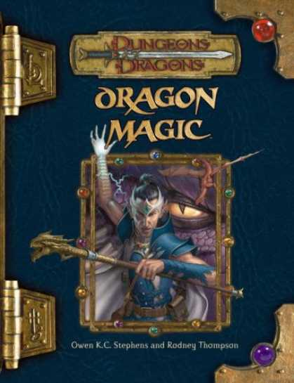 Bestselling Sci-Fi/ Fantasy (2007) - Dragon Magic (Dungeons & Dragons d20 3.5 Fantasy Roleplaying) by Owen K.C. Steph