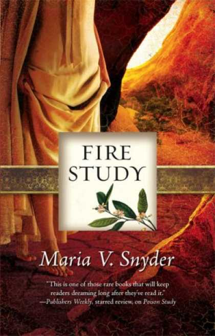 Bestselling Sci-Fi/ Fantasy (2008) - Fire Study (Study, Book 3) by Maria V. Snyder