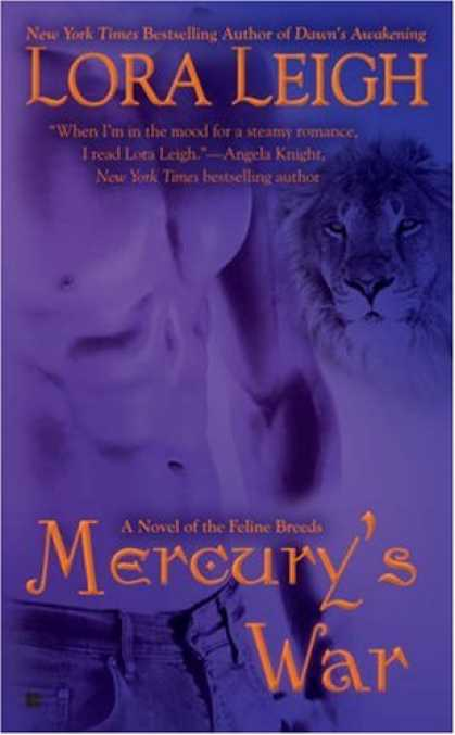 Bestselling Sci-Fi/ Fantasy (2008) - Mercury's War (Breeds, Book 16) by Lora Leigh