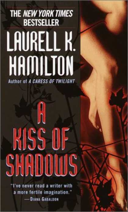 Bestselling Sci-Fi/ Fantasy (2008) - A Kiss of Shadows (Meredith Gentry, Book 1) by Laurell K. Hamilton