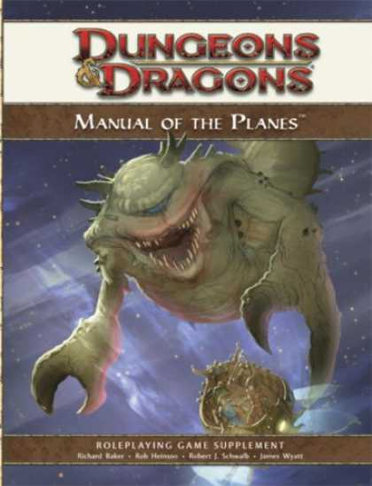 Bestselling Sci-Fi/ Fantasy (2008) - Manual of the Planes: A 4th Edition D&D Supplement (D&D Rules Expansion) by Wiza