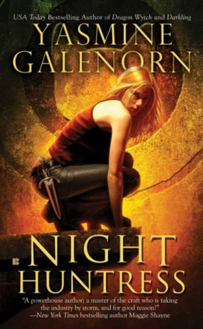 Bestselling Sci-Fi/ Fantasy (2008) - Night Huntress (Sisters of the Moon, Book 5) by Yasmine Galenorn