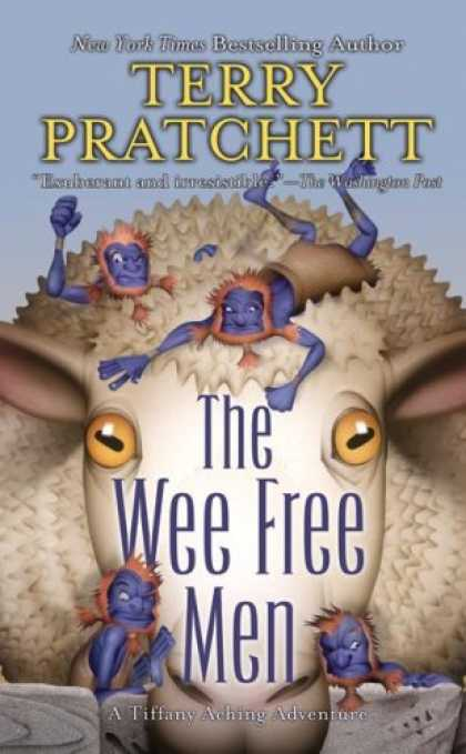 Bestselling Sci-Fi/ Fantasy (2008) - The Wee Free Men (Discworld) by Terry Pratchett