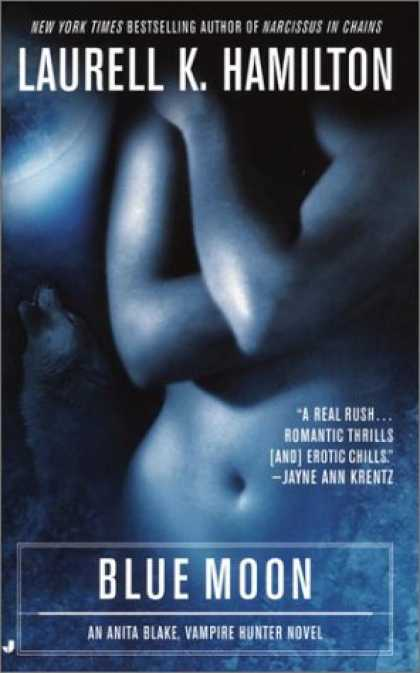 Bestselling Sci-Fi/ Fantasy (2008) - Blue Moon (Anita Blake, Vampire Hunter, Book 8) by Laurell K. Hamilton