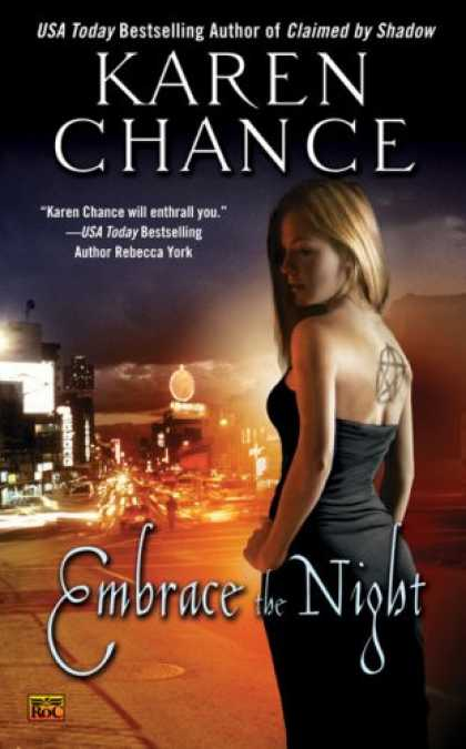 Bestselling Sci-Fi/ Fantasy (2008) - Embrace the Night (Cassandra Palmer Series, Book 3) by Karen Chance