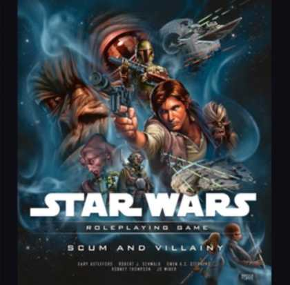 Bestselling Sci-Fi/ Fantasy (2008) - Star Wars: Scum and Villainy: A Star Wars Roleplaying Game Supplement by Wizards