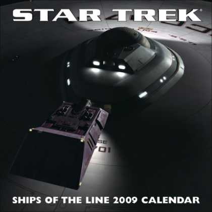 Bestselling Sci-Fi/ Fantasy (2008) - Star Trek: Ships of the Line: 2009 Wall Calendar by LLC Andrews McMeel Publishin