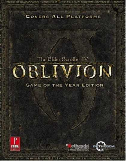 Bestselling Sci-Fi/ Fantasy (2008) - Elder Scrolls IV: Oblivion Game of the Year: Prima Official Game Guide (Prima Of