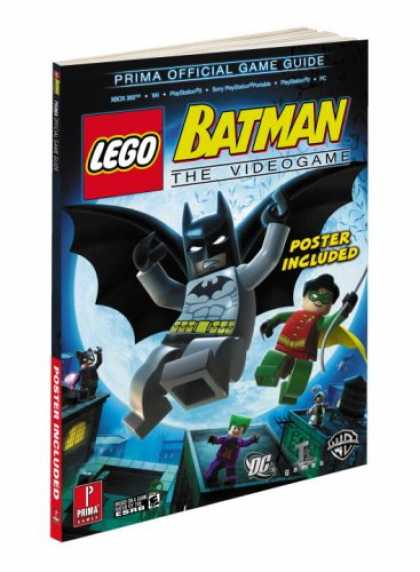 Bestselling Sci-Fi/ Fantasy (2008) - Lego Batman: Prima Official Game Guide (Prima Official Game Guides) by Michael L