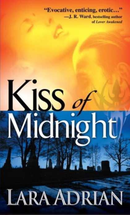 Bestselling Sci-Fi/ Fantasy (2008) - Kiss of Midnight (The Midnight Breed, Book 1) by Lara Adrian
