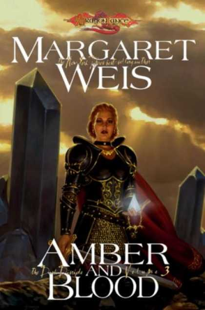 Bestselling Sci-Fi/ Fantasy (2008) - Amber and Blood: The Dark Disciple, Volume Three (v. 3) by Margaret Weis