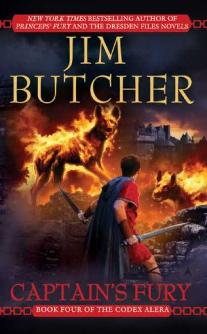 Bestselling Sci-Fi/ Fantasy (2008) - Captain's Fury (Codex Alera, Book 4) by Jim Butcher