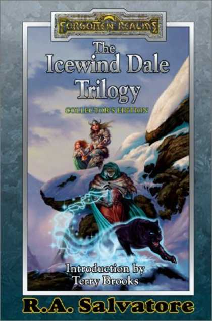 Bestselling Sci-Fi/ Fantasy (2008) - The Icewind Dale Trilogy Collector's Edition (A Forgotten Realms(r) Omnibus) by