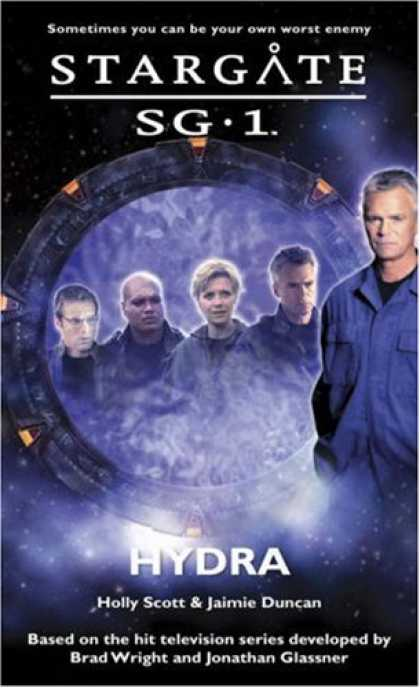 Bestselling Sci-Fi/ Fantasy (2008) - Stargate SG-1: Hydra by Holly Scott