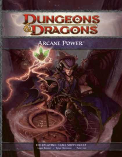 Bestselling Sci-Fi/ Fantasy (2008) - Arcane Power: A 4th Edition D&D Supplement by Logan Bonner