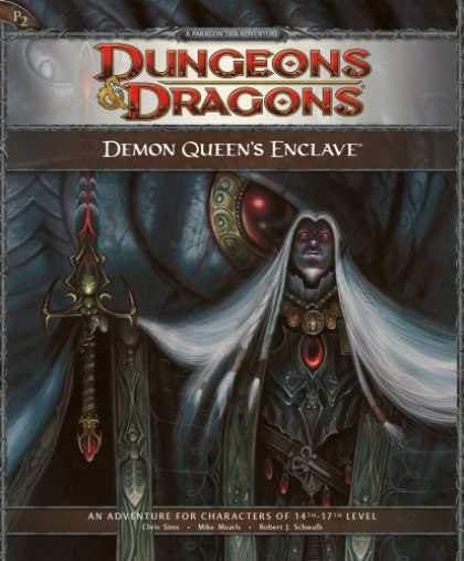 Bestselling Sci-Fi/ Fantasy (2008) - Demon Queen's Enclave: Adventure P2 for 4th Edition Dungeons & Dragons (D&D Adve