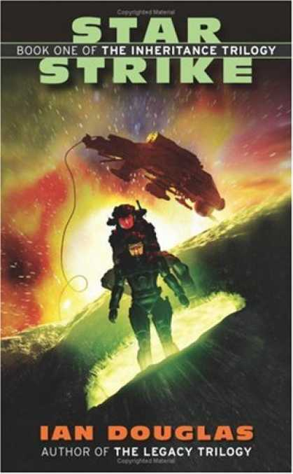 Bestselling Sci-Fi/ Fantasy (2008) - Star Strike (The Inheritance Trilogy, Book 1) by Ian Douglas