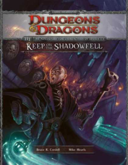 Bestselling Sci-Fi/ Fantasy (2008) - Keep on the Shadowfell (Dungeons & Dragons, Adventure H1) by Bruce Cordell