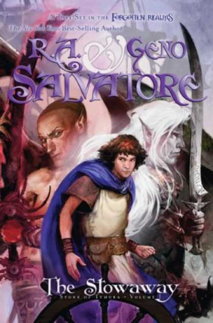 Bestselling Sci-Fi/ Fantasy (2008) - The Stowaway: Stone of Tymora, Book I by R.A. Salvatore