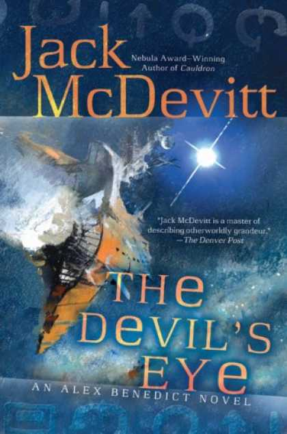 Bestselling Sci-Fi/ Fantasy (2008) - The Devil's Eye: An Alex Benedict Novel by Jack McDevitt