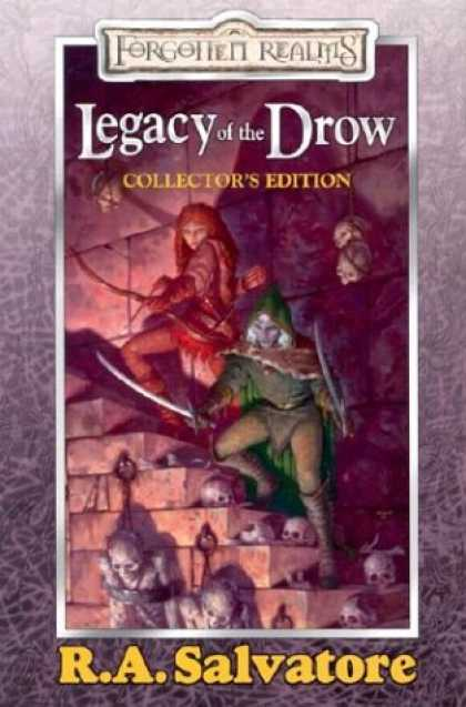 Bestselling Sci-Fi/ Fantasy (2008) - Legacy of the Drow Collector's Edition (Forgotten Realms: Legacy of the Drow) by