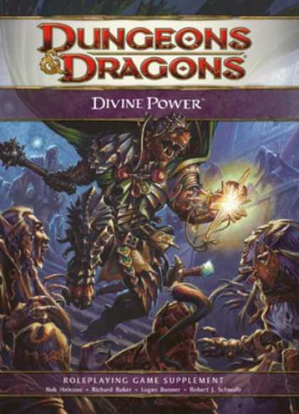 Bestselling Sci-Fi/ Fantasy (2008) - Divine Power: A 4th Edition D&D Supplement by Wizards RPG Team