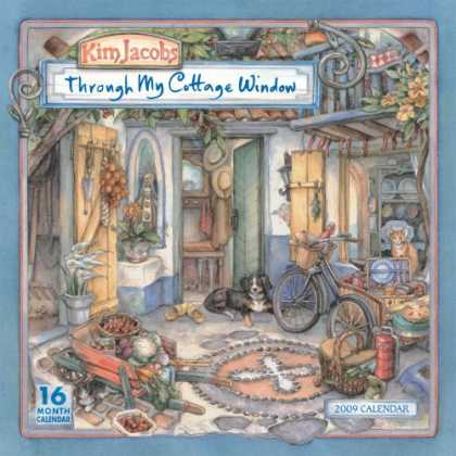 Bestselling Sci-Fi/ Fantasy (2008) - Through My Cottage Window 2009 Wall Calendar (Calendar) by Kim Jacobs