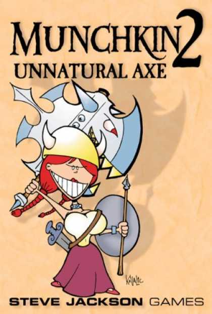 Bestselling Sci-Fi/ Fantasy (2008) - Steve Jackson Games Munchkin 2 Unnatural Axe