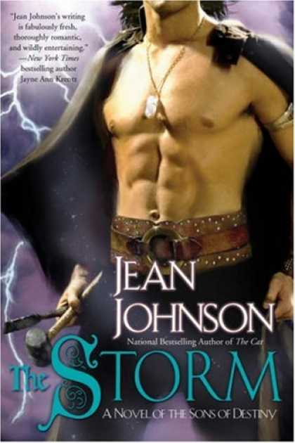 Bestselling Sci-Fi/ Fantasy (2008) - The Storm (The Sons of Destiny, Book 6) by Jean Johnson