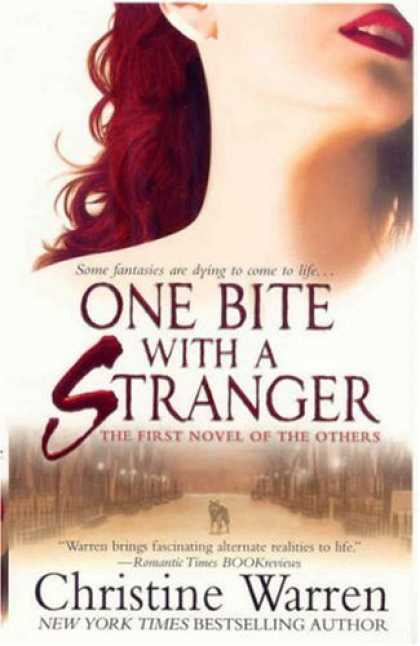 Bestselling Sci-Fi/ Fantasy (2008) - One Bite With A Stranger (The Others, Book 6) by Christine Warren