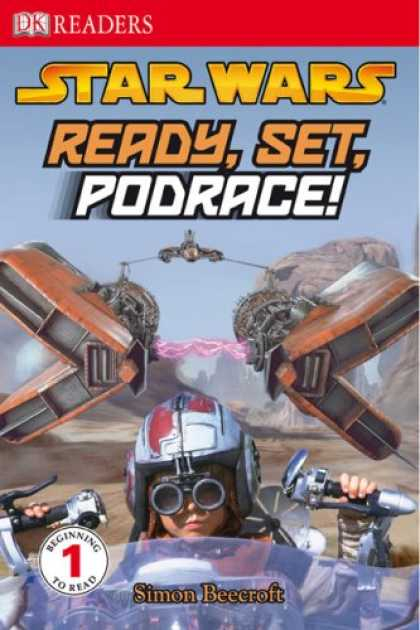 Bestselling Sci-Fi/ Fantasy (2008) - Ready, Set, Podrace! (Dk Readers. Level 1) by Simon Beecroft