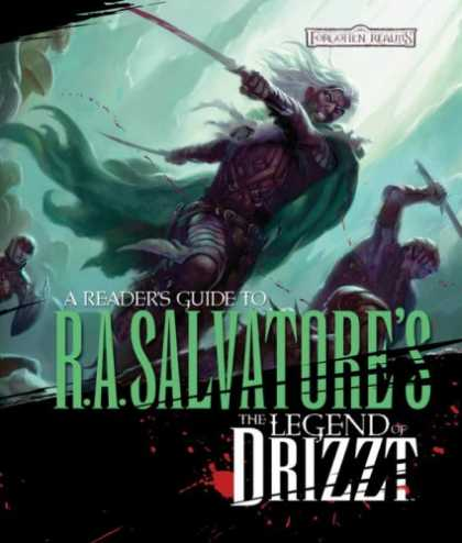 Bestselling Sci-Fi/ Fantasy (2008) - Reader's Guide to the Legend of Drizzt by Philip Athans