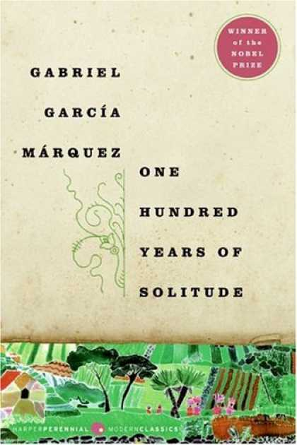 Bestselling Sci-Fi/ Fantasy (2008) - One Hundred Years of Solitude by Gabriel Garcia Marquez