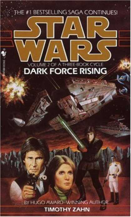 Bestselling Sci-Fi/ Fantasy (2008) - Dark Force Rising (Star Wars: The Thrawn Trilogy, Book 2) by Timothy Zahn