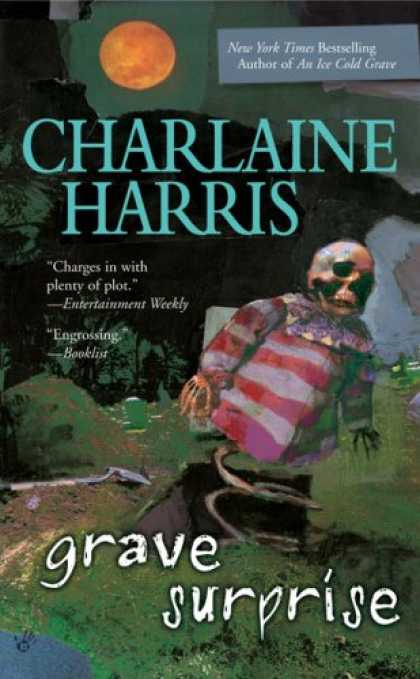 Bestselling Sci-Fi/ Fantasy (2008) - Grave Surprise (Harper Connelly Mysteries, Book 2) by Charlaine Harris