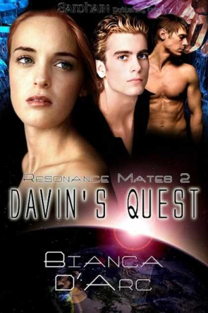 Bestselling Sci-Fi/ Fantasy (2008) - Davin's Quest (Resonance Mates) by Bianca D'Arc