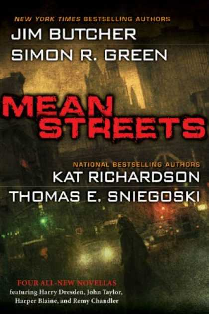 Bestselling Sci-Fi/ Fantasy (2008) - Mean Streets by Jim Butcher