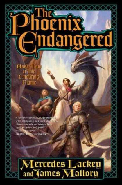 Bestselling Sci-Fi/ Fantasy (2008) - The Phoenix Endangered: Book Two of The Enduring Flame by Mercedes Lackey