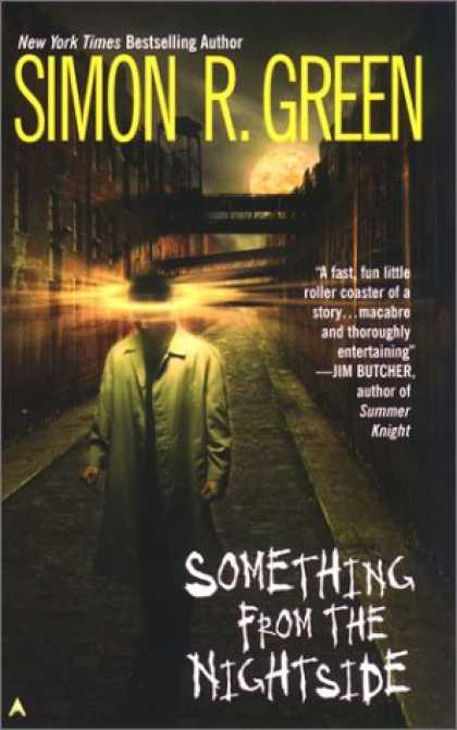 Bestselling Sci-Fi/ Fantasy (2008) - Something from the Nightside (Nightside, Book 1) by Simon R. Green