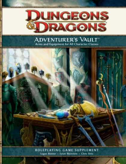 Bestselling Sci-Fi/ Fantasy (2008) - Adventurer's Vault: A 4th Edition D&D Supplement by Logan Bonner