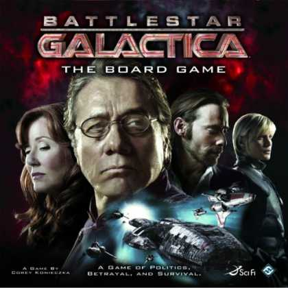 Bestselling Sci-Fi/ Fantasy (2008) - Battlestar Galactica: The Board Game