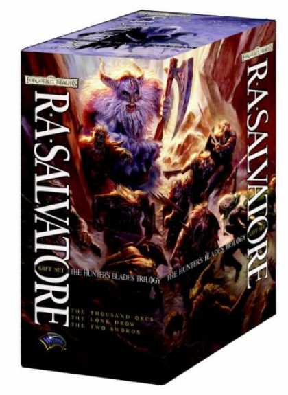 Bestselling Sci-Fi/ Fantasy (2008) - The Hunter's Blades Trilogy Gift Set by R.A. Salvatore